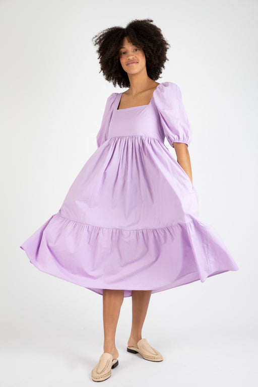 Bronze-Age-Serenity-Puff-Sleeve-Dress-Lavender