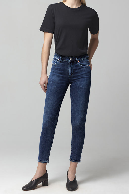 Citizens of Humanity Rocket Crop Mid Rise Skinny Fit in Alto