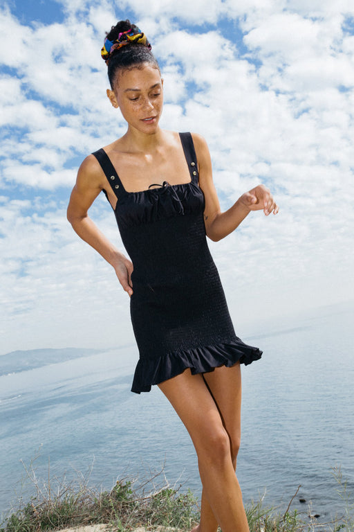 Ciao Lucia Cara Dress black cotton