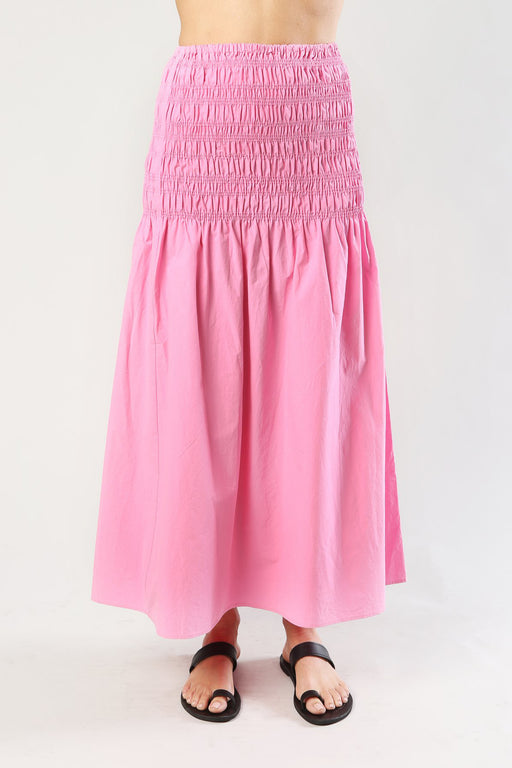 The Ciao Lucia Clio skirt baby pink cotton