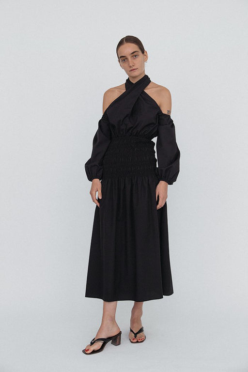 Ciao Lucia Clio skirt black cotton