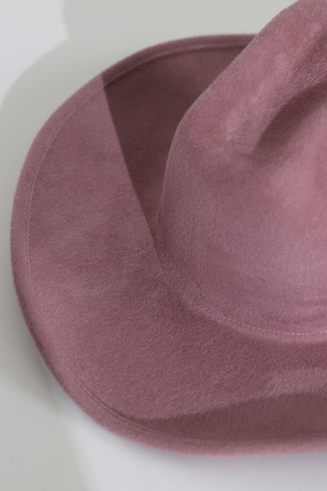 Clyde Cowboy Hat Smoke Rose