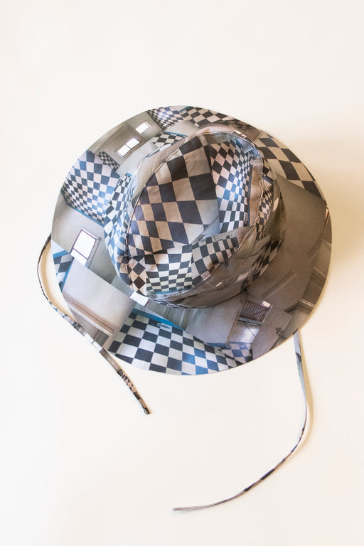 Clyde's Fisherman Hat in Maya Beaudry Check Print