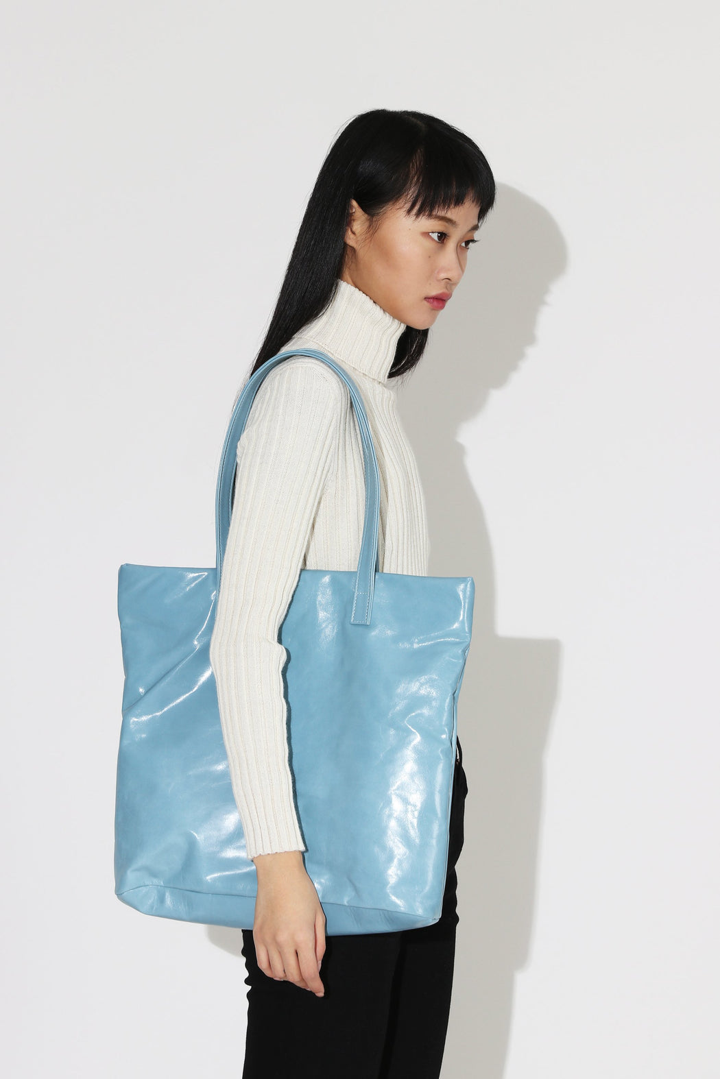 Clyde Lucid Tote Sky Blue