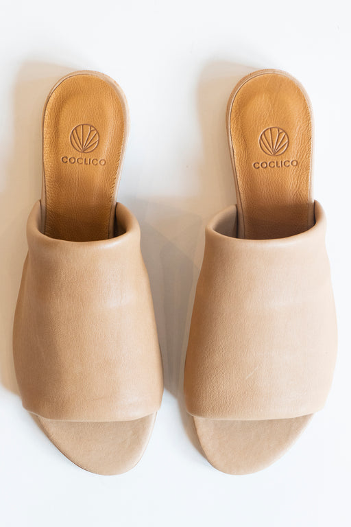 Coclico Court Sandal in Camel