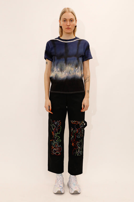 Collina-Strada-Tie-Dye-Sporty-Spice-Tee-Navy-Floral-Grid