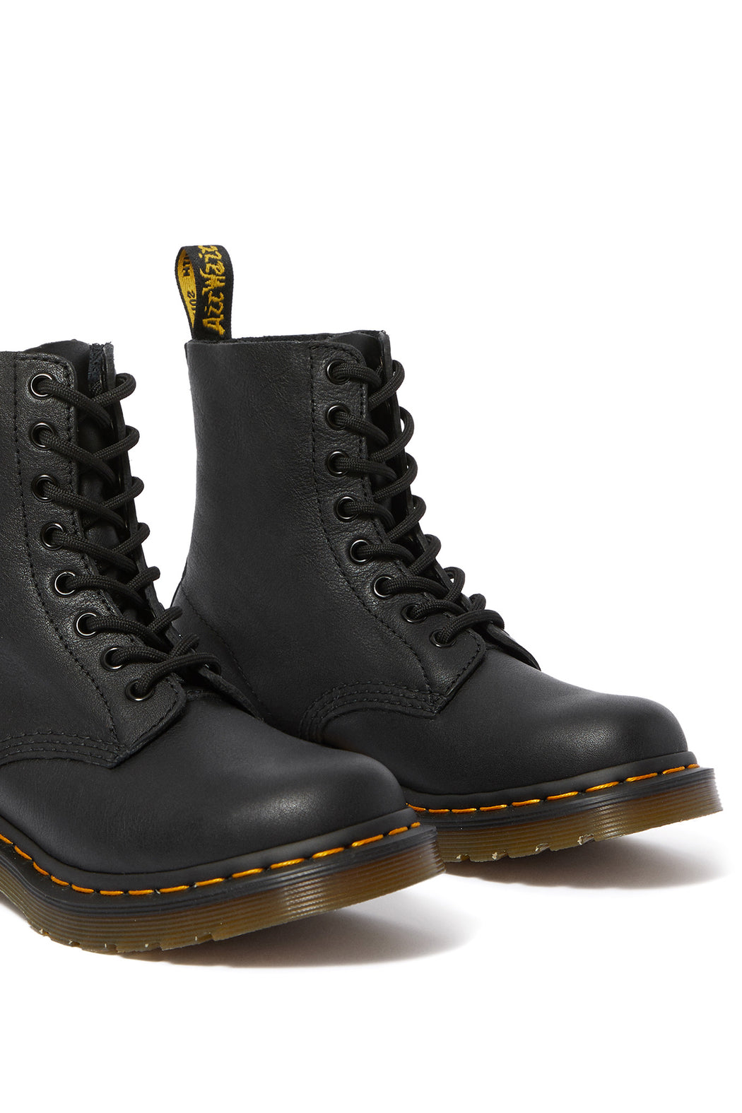 Dr Martens 1460 Pascal Virginia Leather Boot Black