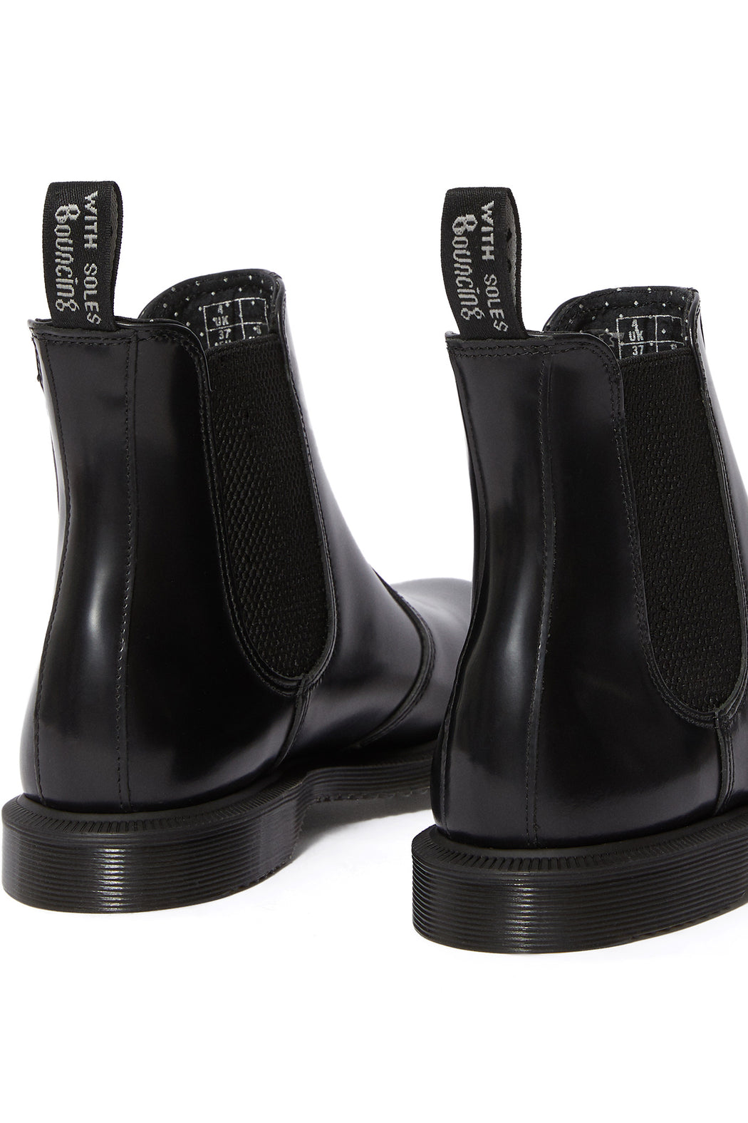 Dr Martens Flora Smooth Leather Chelsea Boot Black