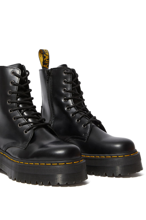 Dr Martens Jadon Smooth Leather Platform Boot Black