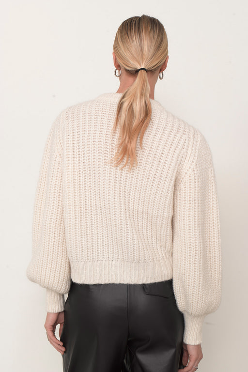 Eleven Six June Crewneck Sweater Ivory
