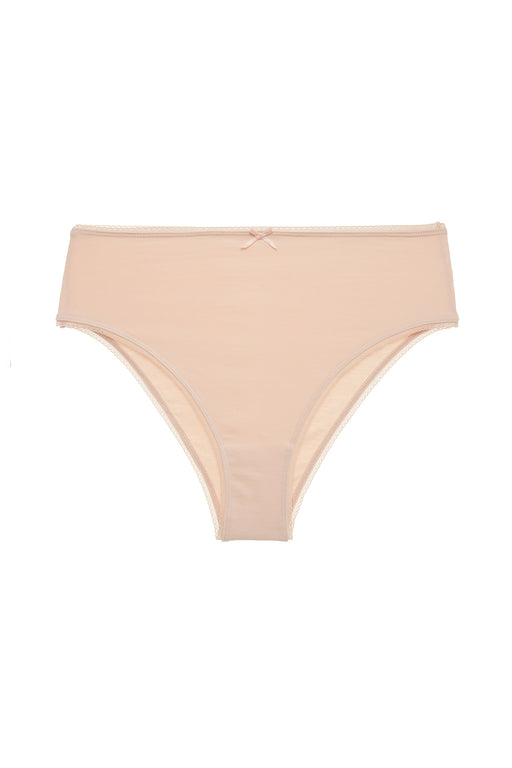 Eberjey-Pima-Goddess-Everyday-High-Waisted-Brief-Buff