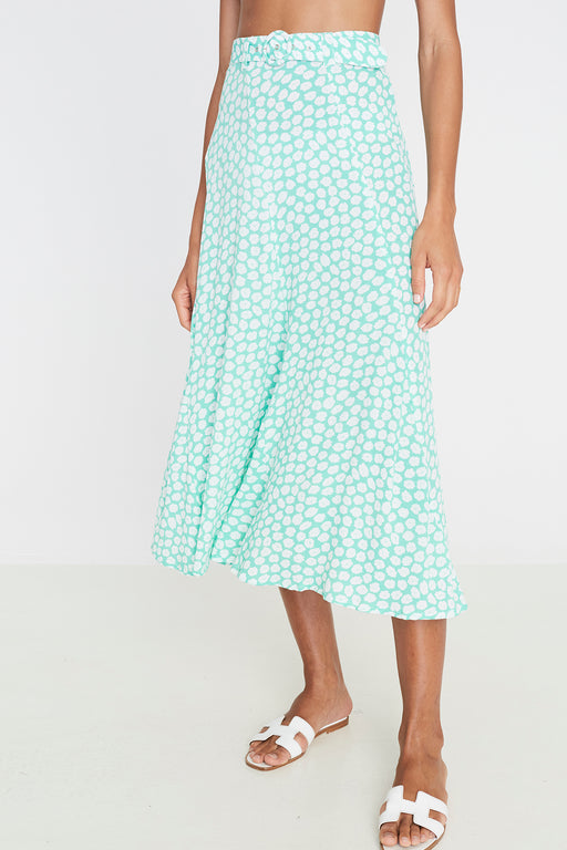 Faithfull the Brand's Valensole Midi Skirt in Cora Floral