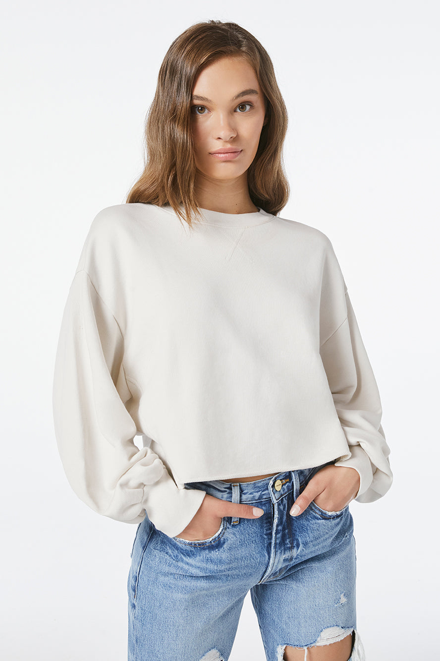 Frame-Easy-Shirtail-Sweatshirt-Winter-White