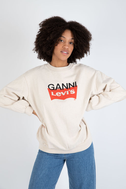 Ganni-Jersey-Sweatshirt-Nature