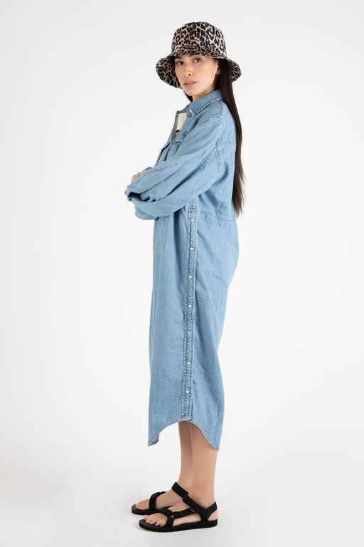 Ganni-Light-Indigo-Denim-Shirt-Dress-Light-Denim