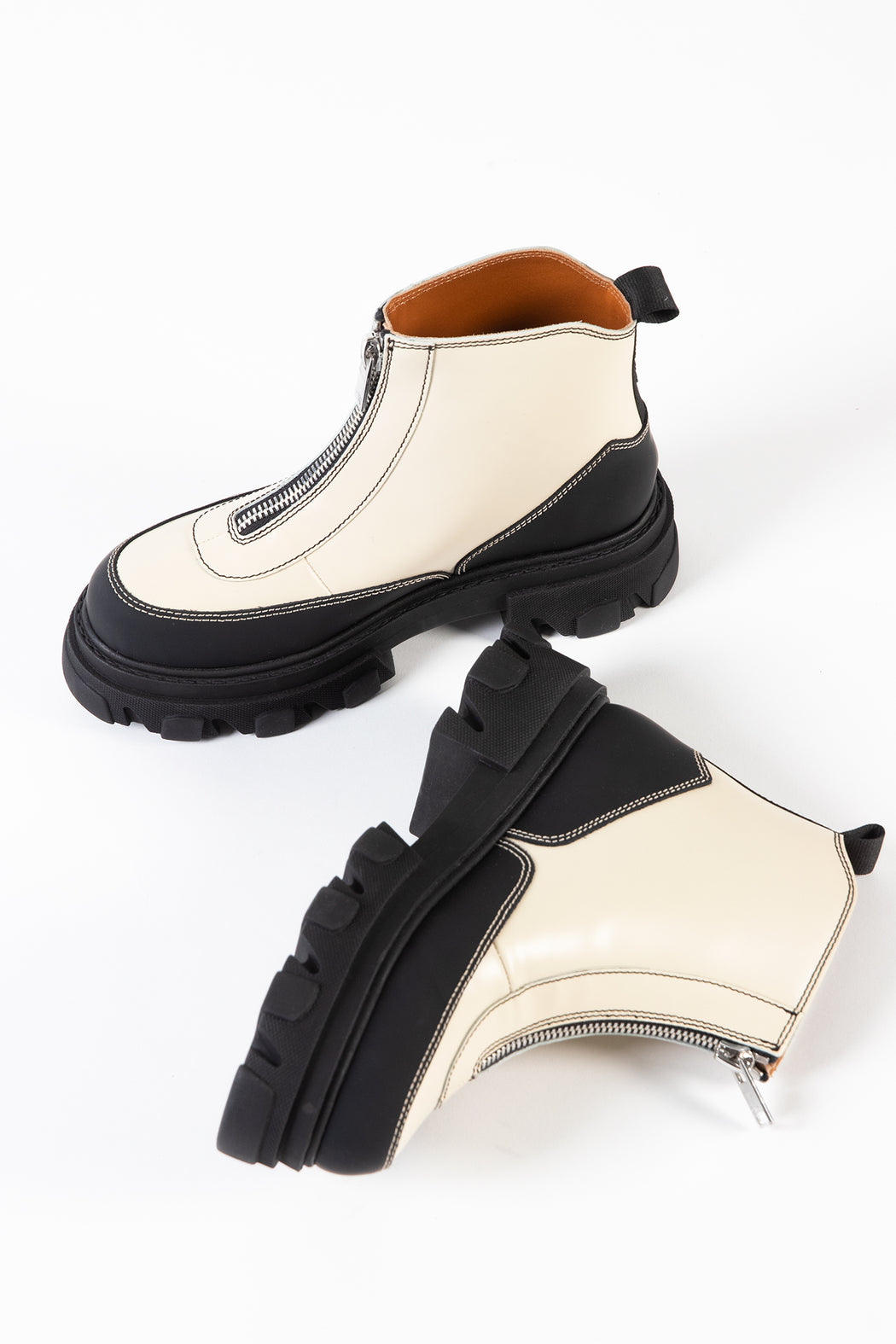 Ganni-Polido-Zipper-Boot-Egret