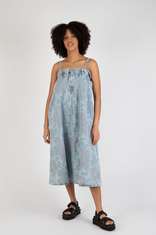 Ganni-Printed-Light-Indigo-Denim-Strap-Dress-Light-Denim