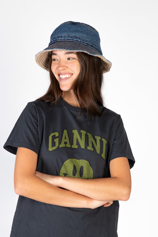 Ganni-Teddy-Denim-Hat-Denim
