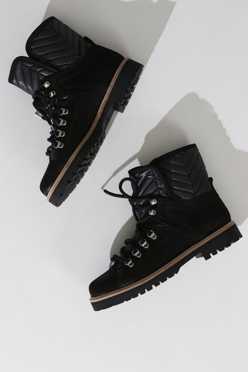 Ganni Winter Hiking Boot Black