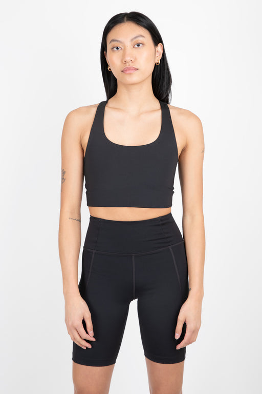 Girlfriend Collective High-Rise Bike Short Black