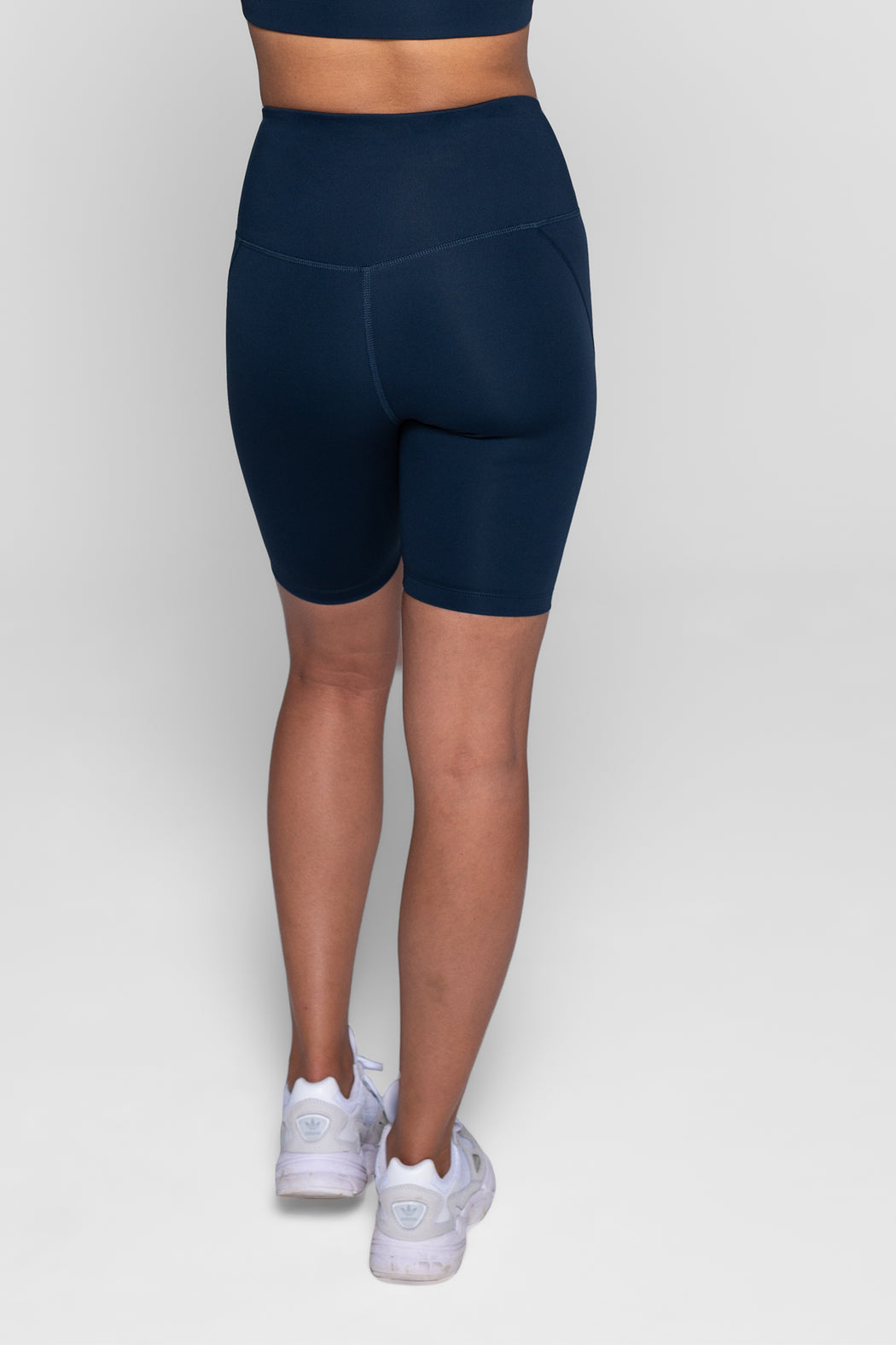 Girlfriend Collective High-Rise Bike Short Midnight