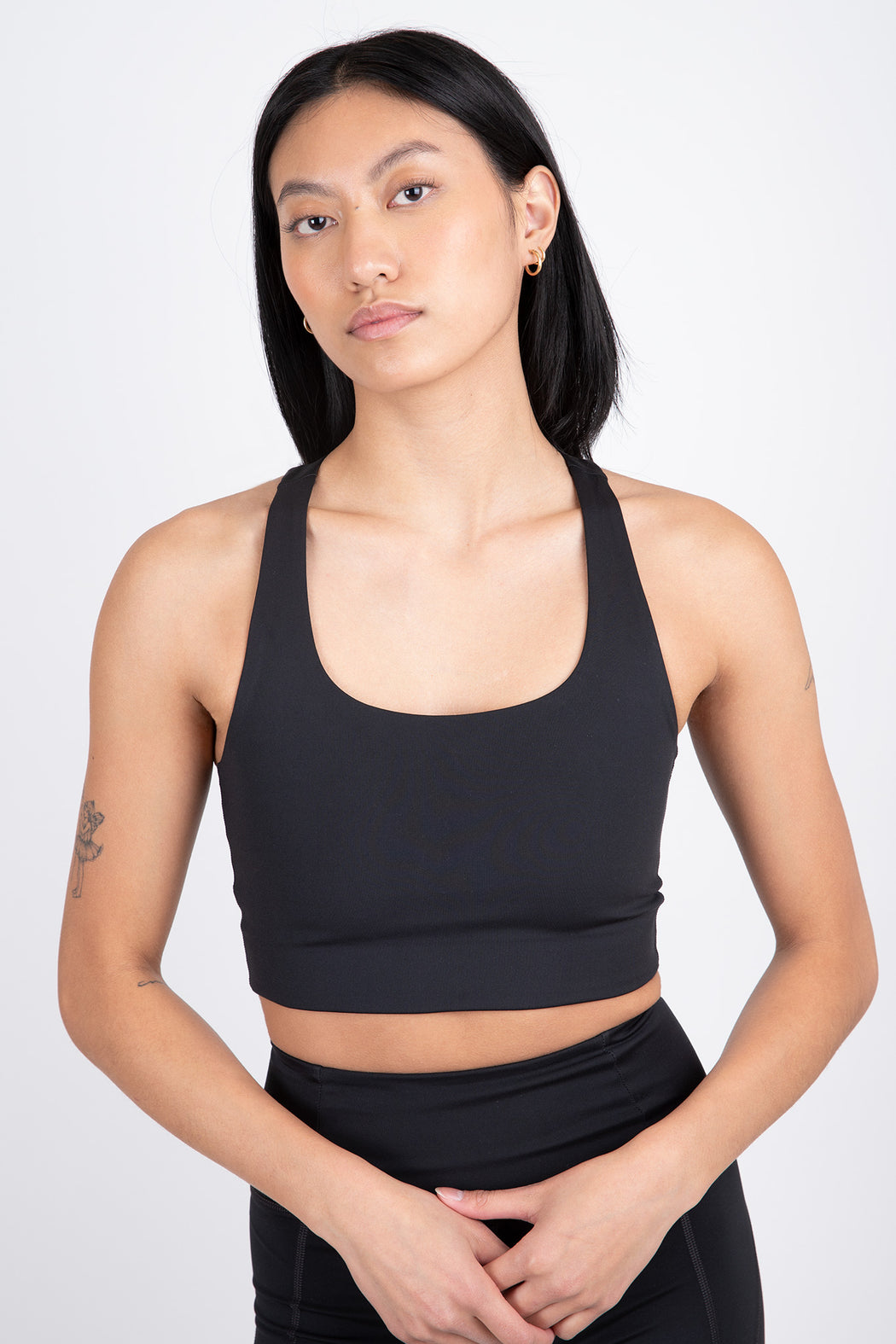 Girlfriend Collective Paloma Bra Black
