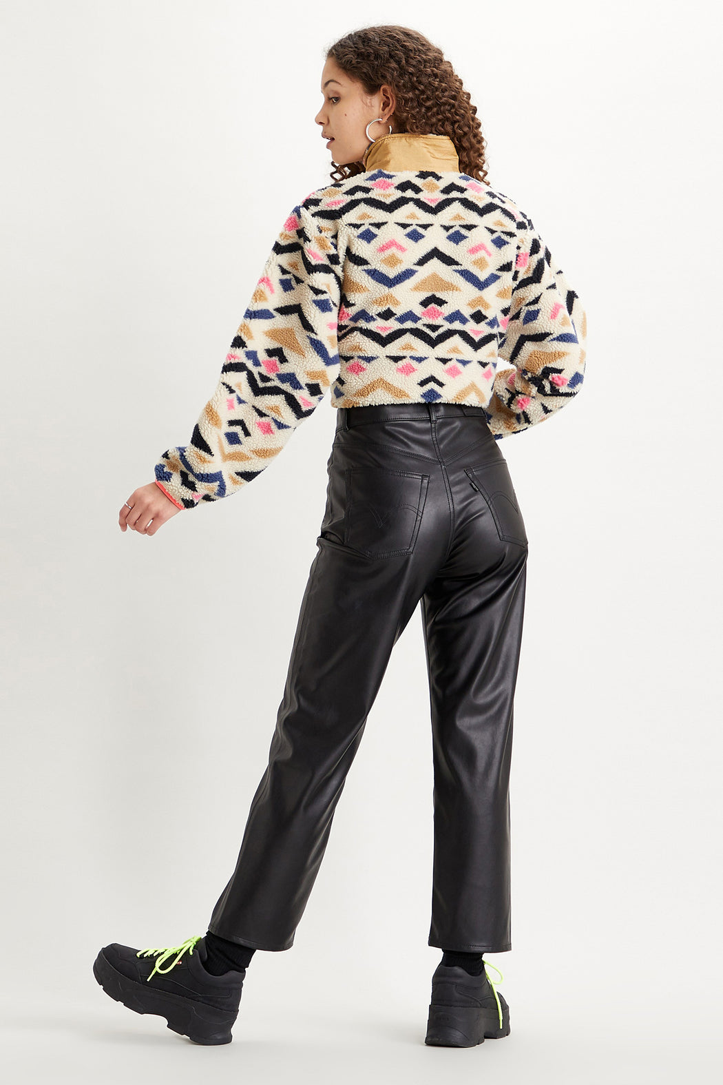 Levi's-Faux-Leather-Ribcage-Straight-Pant-Leather-Night