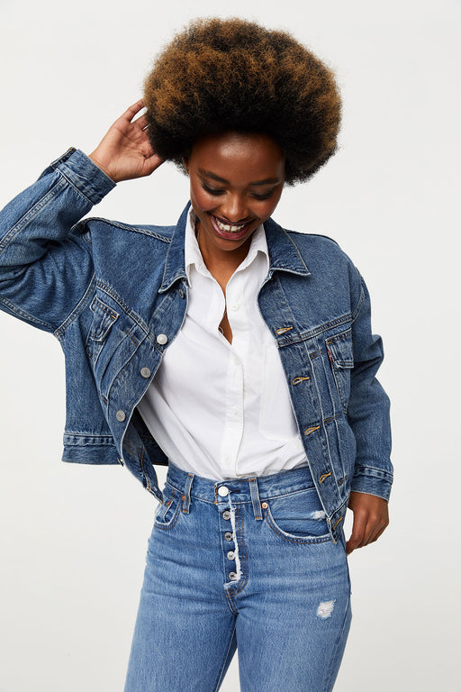 Levi's Heritage Trucker Jacket Turn the Tide