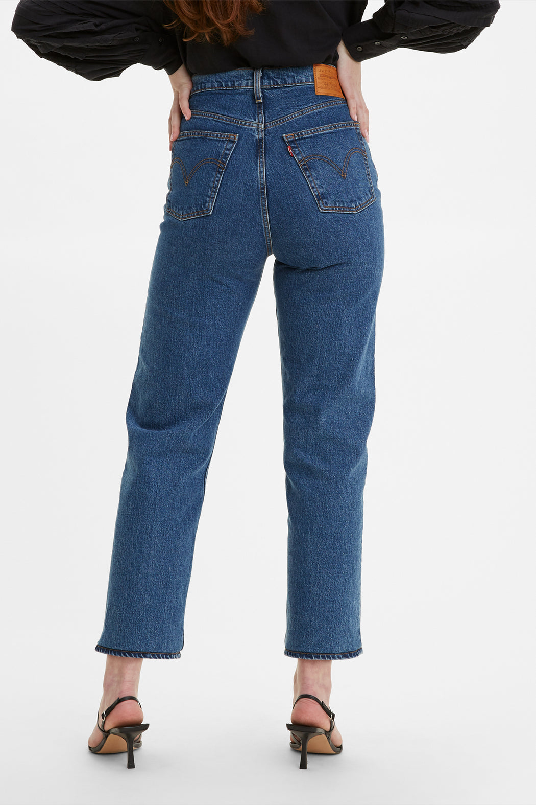 Ribcage Straight Ankle Jean