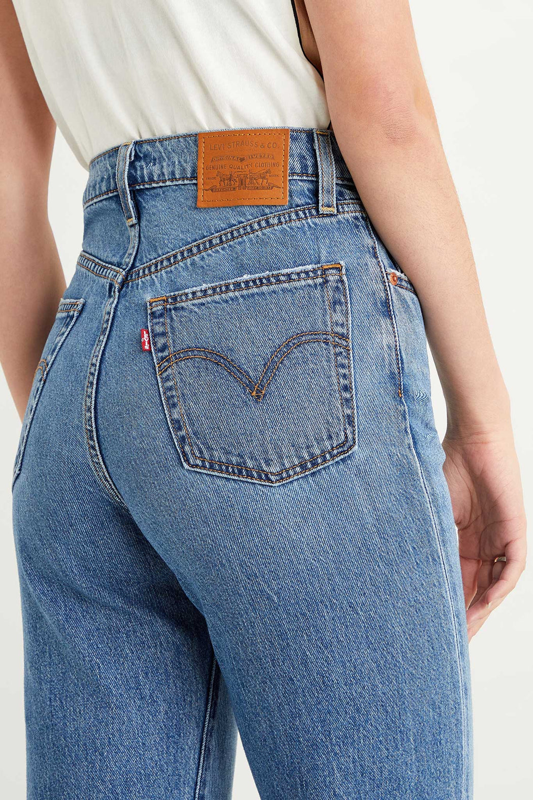 Levi's Ribcage Straight Ankle Jean Haight at the Ready