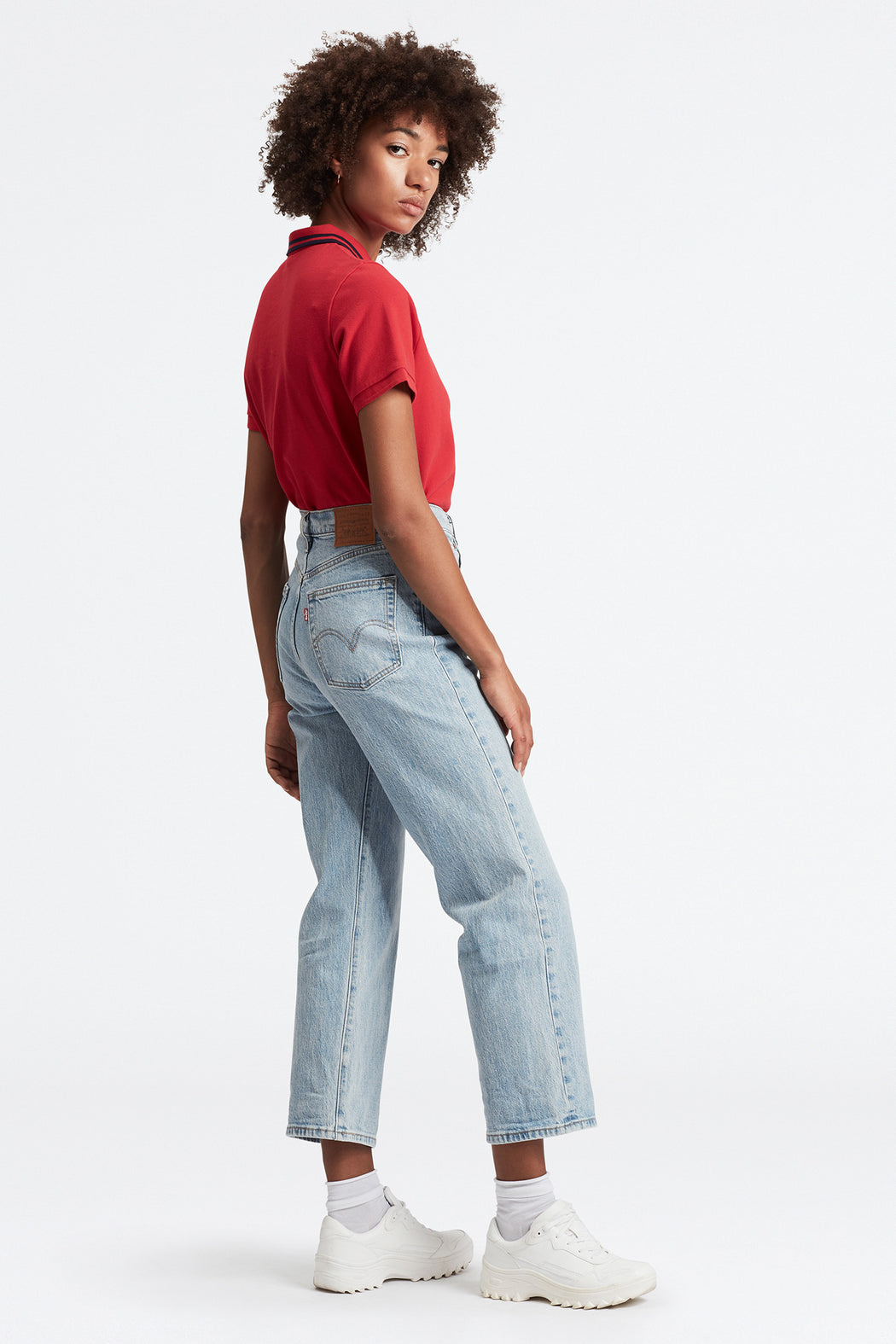 Levi's Ribcage Straight Ankle Jean Tango Light