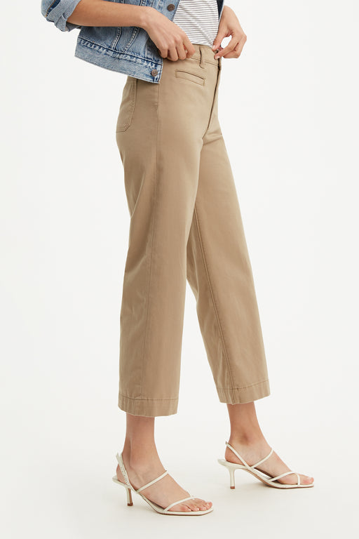 Ribcage Wide Leg Cropped Pant