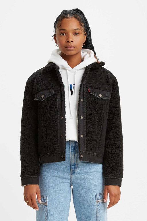 Levis Ex-Boyfriend Pieced Trucker Jacket Two Shakes