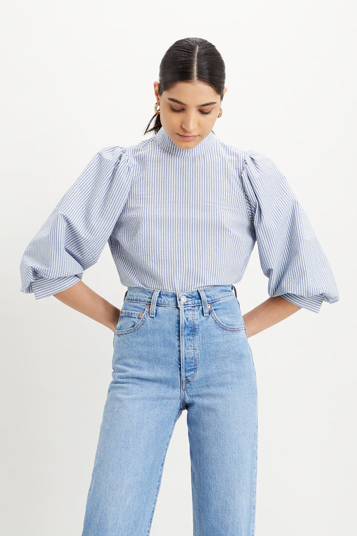 Levis-Posey-Blouse-Colony-Blue