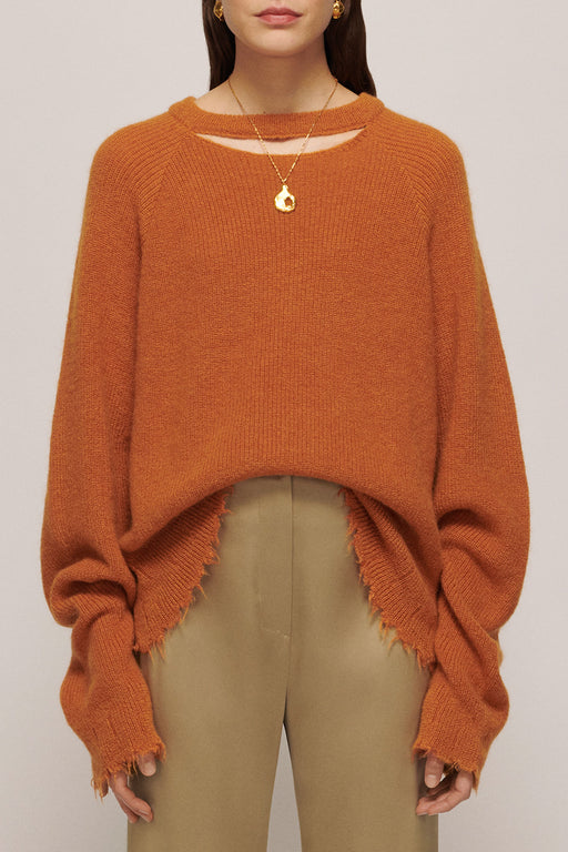 Nanushka-Chameli-Sweater-Dusty-Orange
