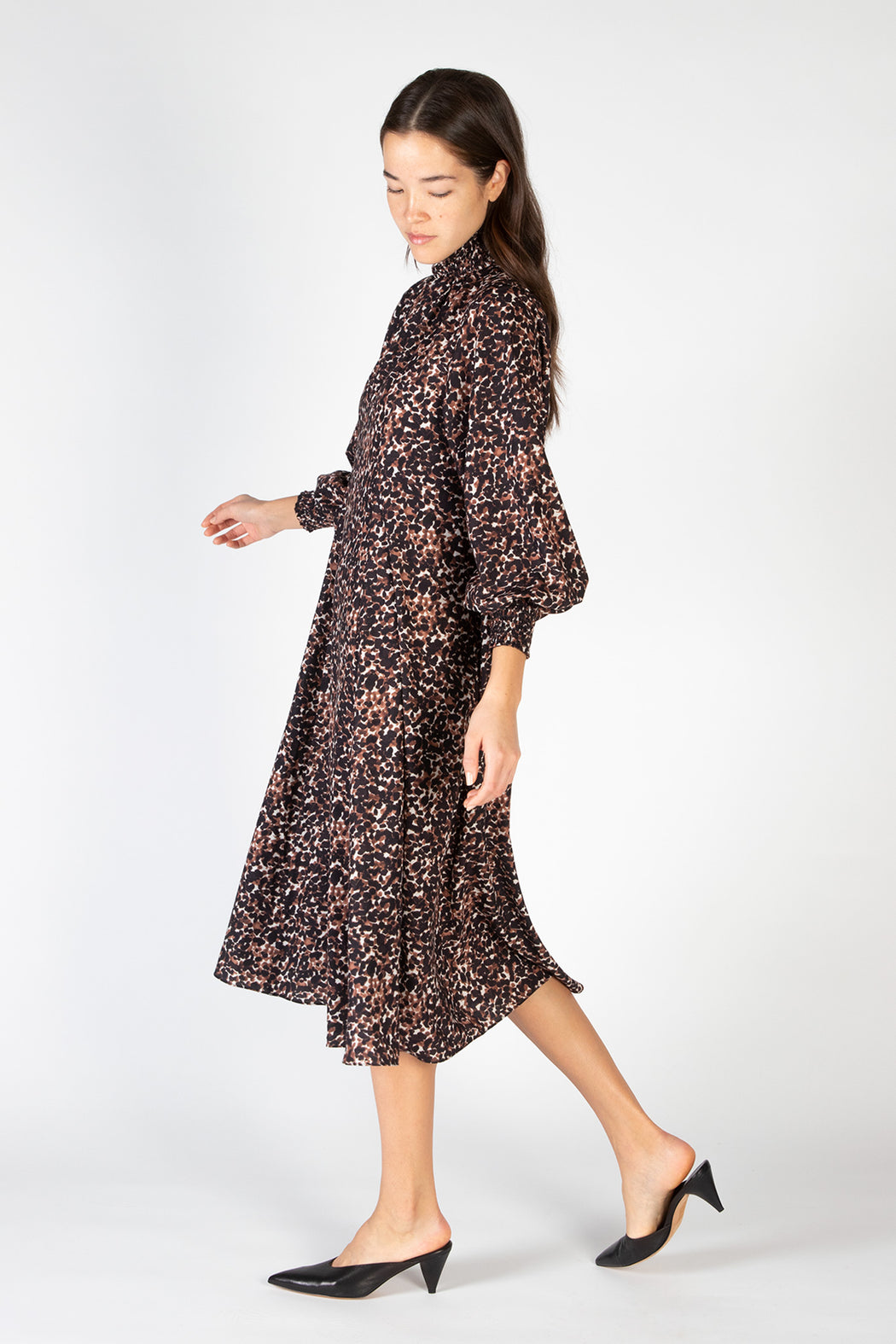 No-6-Reid-Dress-Brown-Jungle