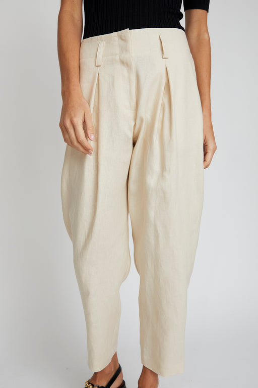 No.6 Hollis Pant in Natural Linen