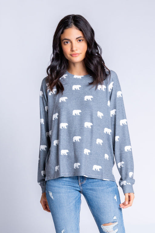 PJ-Salvage-Bear-with-Me-Long-Sleeve-Top-Charcoal-1