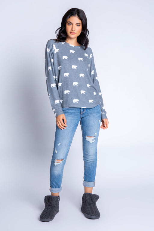 Bear with Me Long Sleeve Top