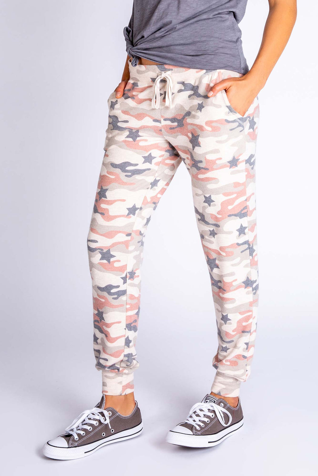 PJ-Salvage-Follow-the-Stars-Camo-Banded-Pant-Oatmeal-1