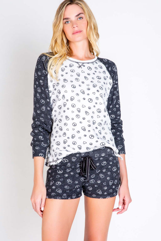 PJ-Salvage-Peace-Love-Long-Sleeve-Top-Ivory-1