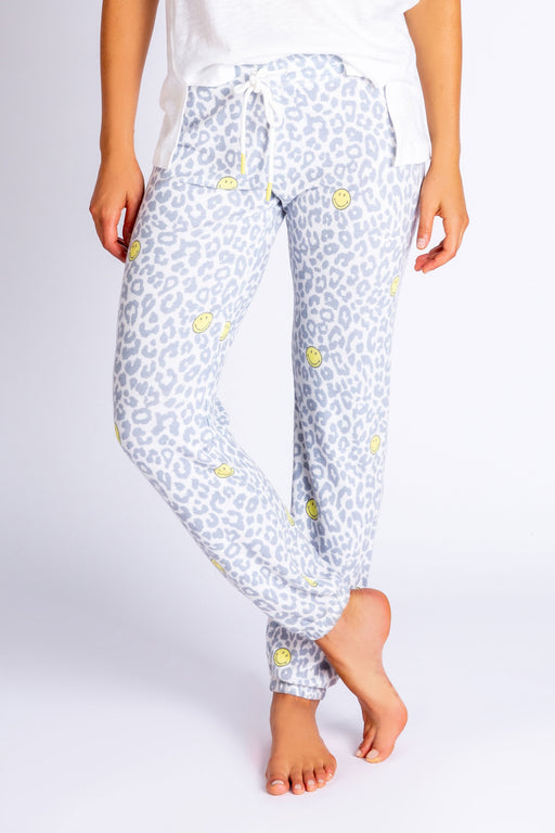 PJ-Salvage-Smiley-Print-Banded-Pant-Ivory-1
