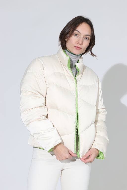 Paloma Wool Mitsubishi Puffer Jacket Off White