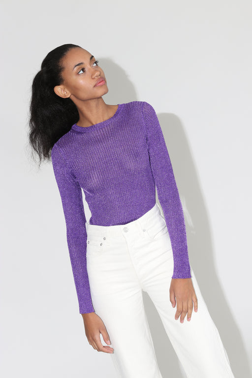 Paloma Wool Teide Long sleeve Top Lilac