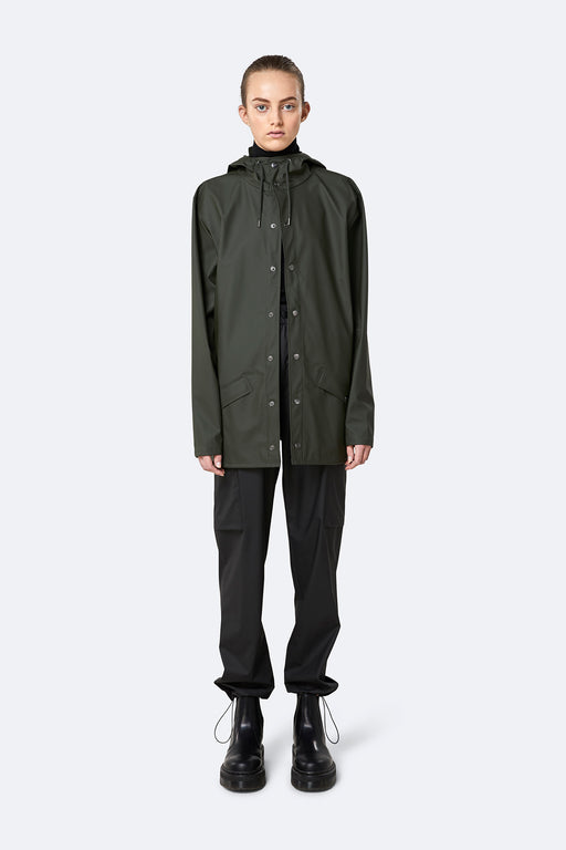 Rains Jacket Green