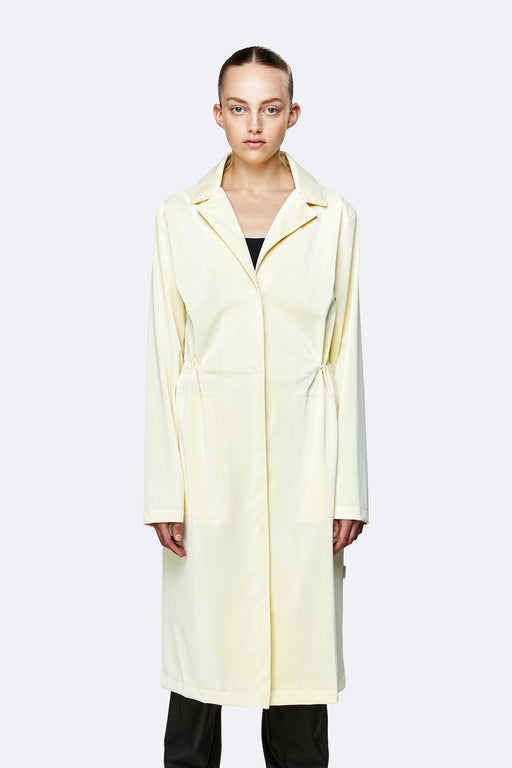 RAINS-String-Overcoat-Pearl