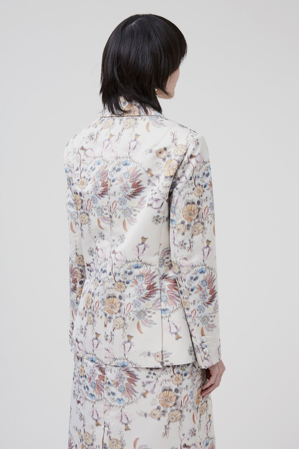 Rachel Comey Titulo Blazer Ivory Multi Floral