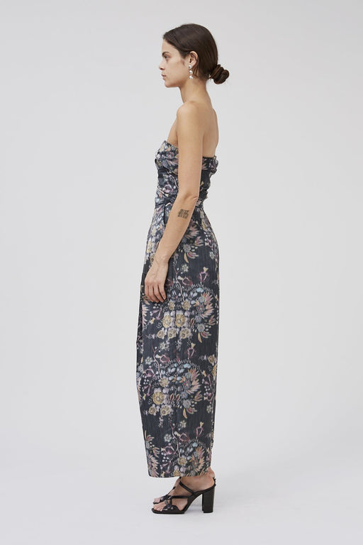 Rachel Comey Tristan Jumpsuit in Black Multi Floral