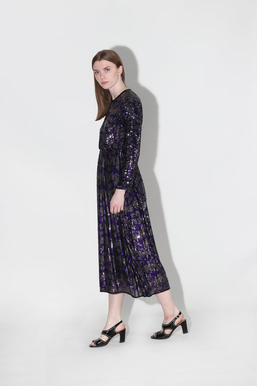 Rachel Comey Sequin Astraea Dress Purple