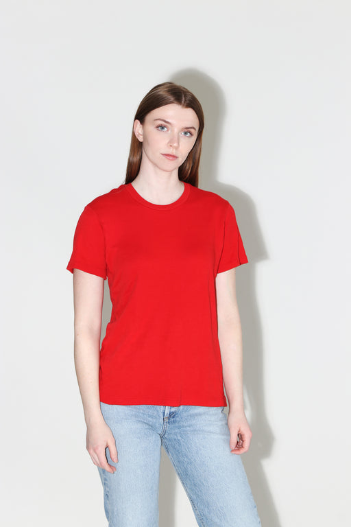 Redone 70's Loose Tee Red Orange